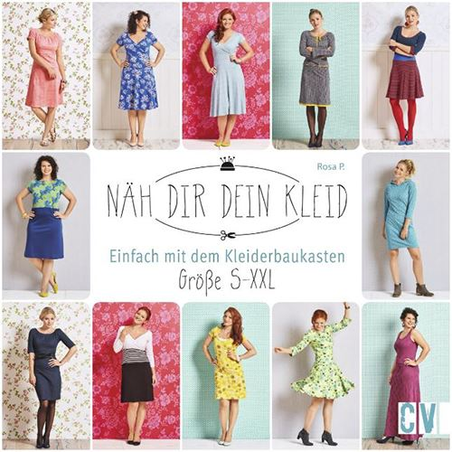 The front cover of Näh Dir Dein Kleid