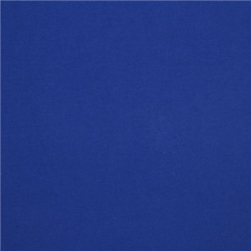 blue Michael Miller knit fabric from the USA Solid