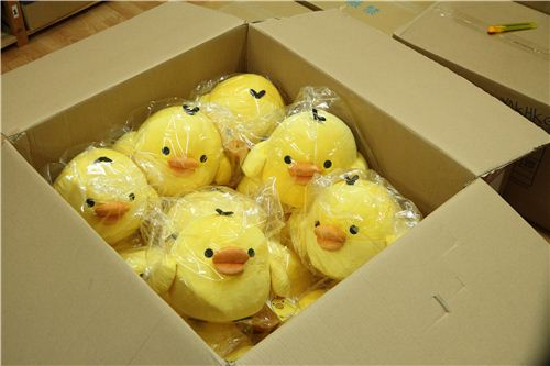 We got lots of new big plushies for our shop