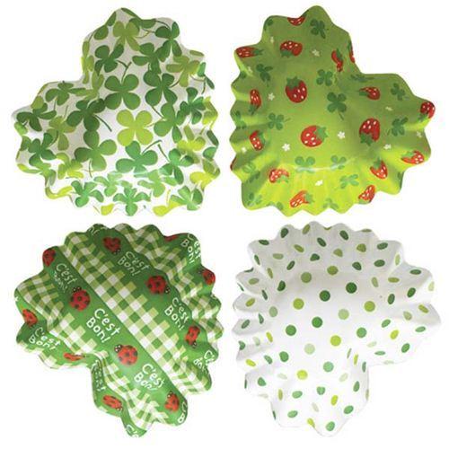 cloverleaf ladybug bento lunch box heart paper cups