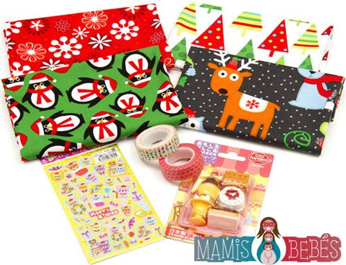 Win this kawaii prize package on the Mamis Y Bebes blog