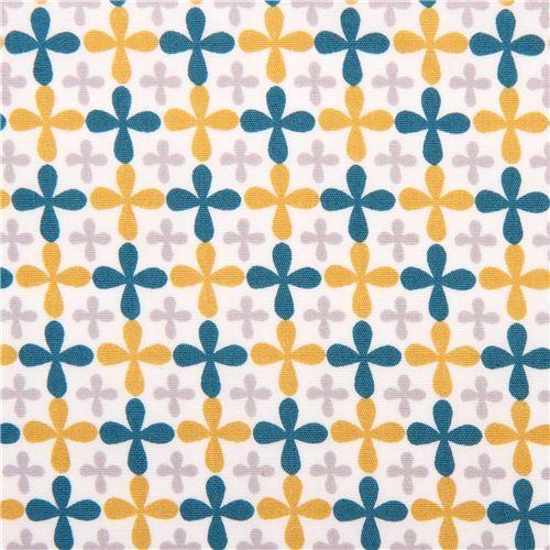 white monaluna mini flower organic fabric Jacks