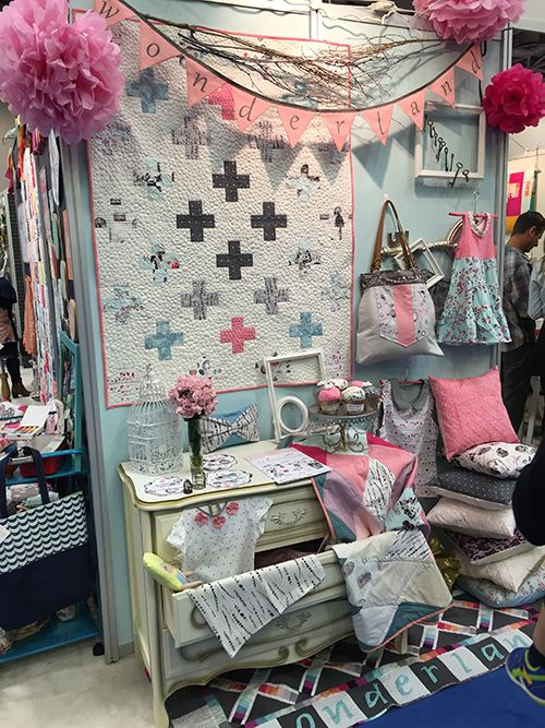 Wonderland in pink and grey make you feel at home at once.