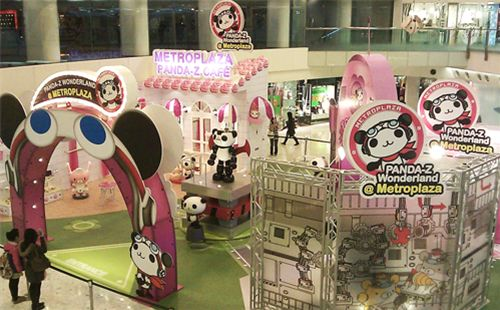 Panda-Z Cafe in Hong Kong shopping mall 3