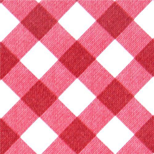 Michael Miller premium laminate fabric gingham checker