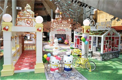 The official photo of the Sanrio Star Chef Institute exhibition in Hong Kong