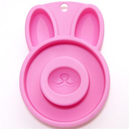 kawaii rabbit silicone cake mold for roll cake