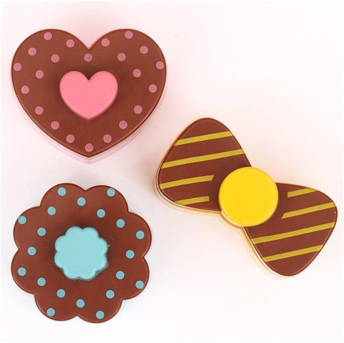 heart cookie ribbon Bento sandwich food cutters