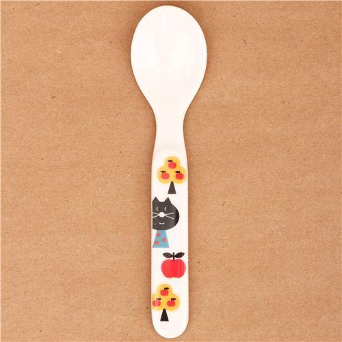 kawaii cat ladybug spoon cutlery from Japan