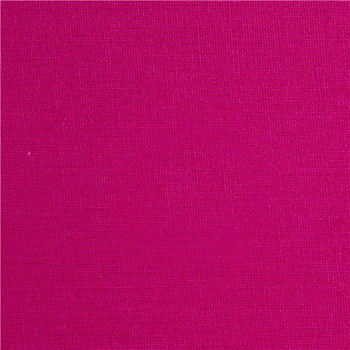 solid pink echino canvas fabric from Japan