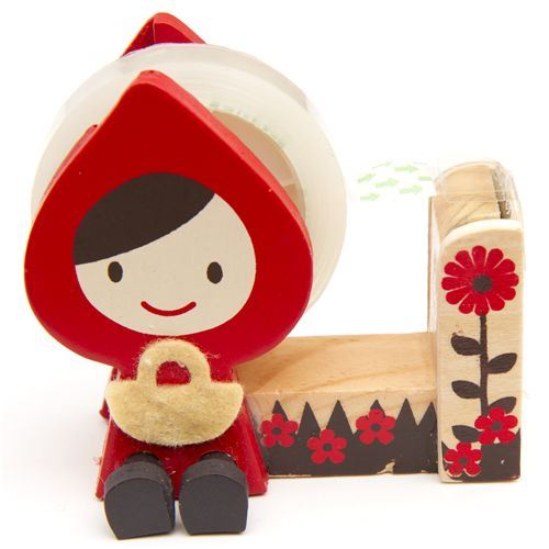 Little Red Riding Hood deco tape dispenser Otogicco
