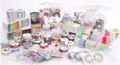 Take a look at all the different mt Washi masking tape sets