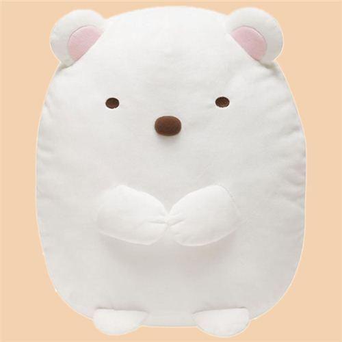 cute big white polar bear Sumikkogurashi plush toy