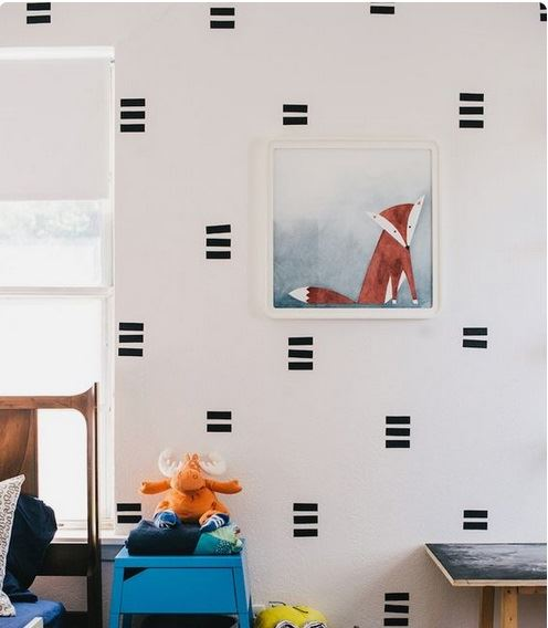 Don't you feel inspired to decorate? Image from Anna Tovar, designsponge.com