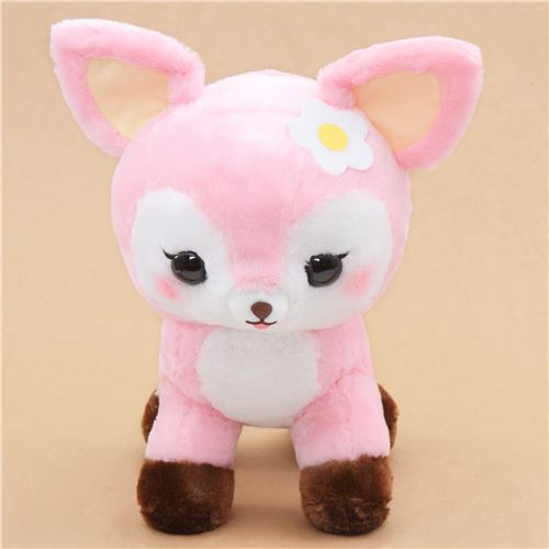 big pink cute deer Koijika no Latte plush toy Japan