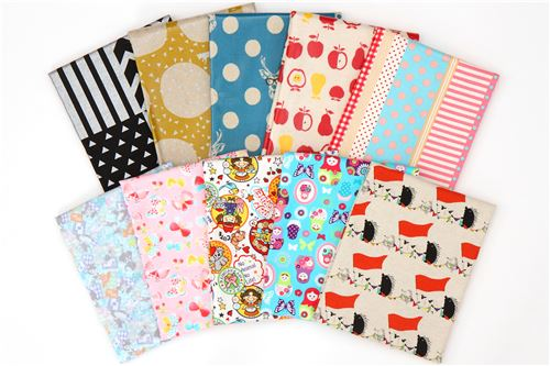 Join our giveaway to win 10 stunning Japanese fabrics!