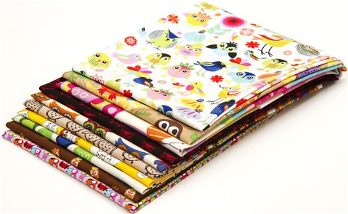 What a hoot: These 10 owl fabrics fat quarters could be yours