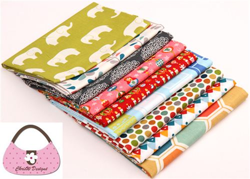 Win this bundle of organic birch fabrics at ChrisW Designs