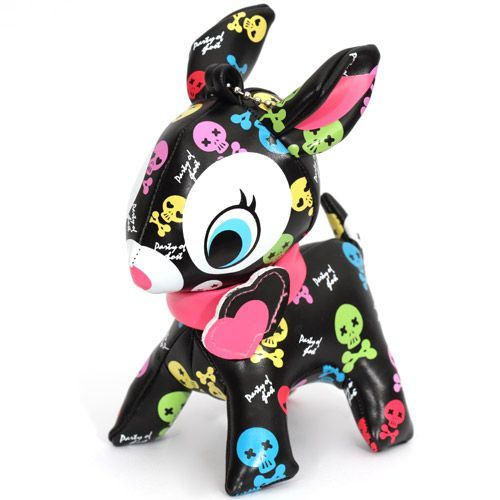 cute big black deer charm skulls