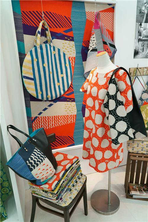 Gorgeous Echino fabrics as items