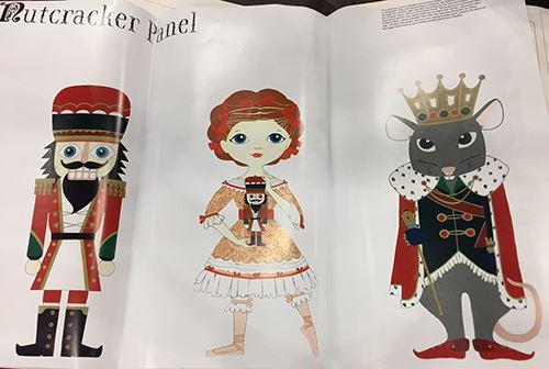 Aren't these Alexander Henry designs super creative?