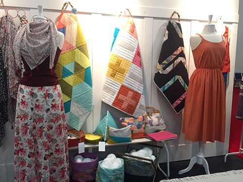 These dresses and quilts using Cloud 9 fabrics are stunning