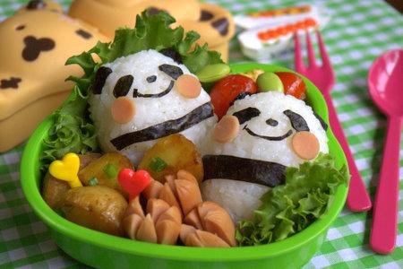 cute panda bento box