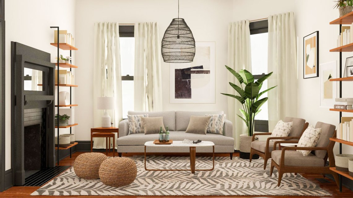 Layout Guide A Small Square Living Room Two Functional Solutions