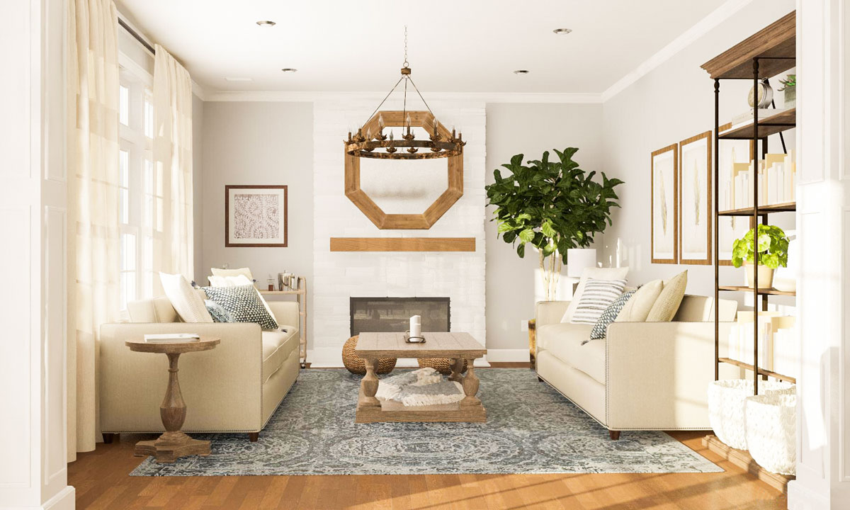 Layout Guide Designing A Long Open Living Dining Room