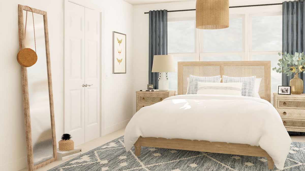 Bedroom Layout Ideas For A Room With Lots Of Doors And Windows