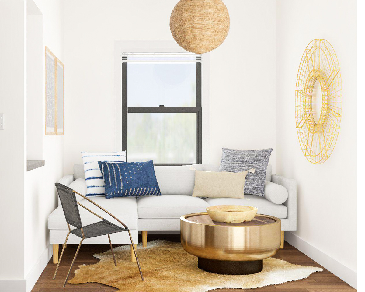 9 Small Living Room Design Tips from Designers | Modsy Blog on Small Space Small Living Room Ideas  id=36605