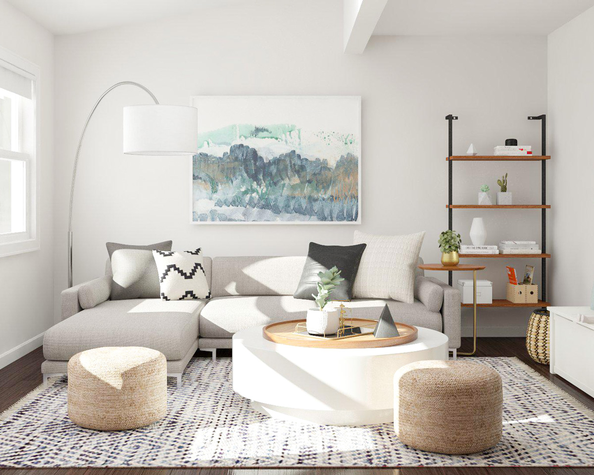 9 Small Living Room Design Tips from Designers | Modsy Blog on Small Space Small Living Room Ideas  id=17045