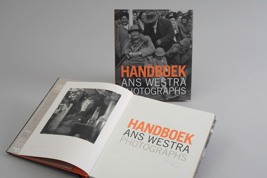 'Handboek: Ans Westra Photographs' designed by Neil Pardington