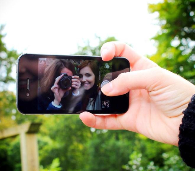 quick access iPhone camera