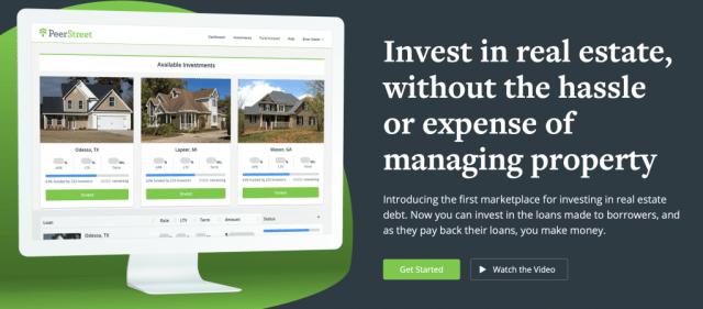 PeerStreet alternative real estate investing