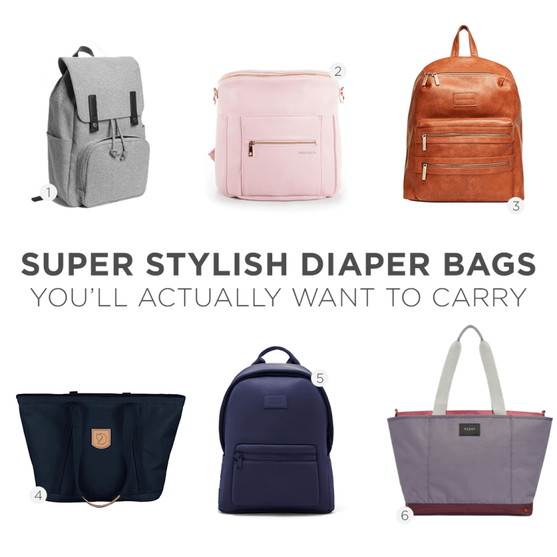 6d0de35e180 10 Super Stylish Diaper Bags You'll Actually Want to Carry – Monica ...