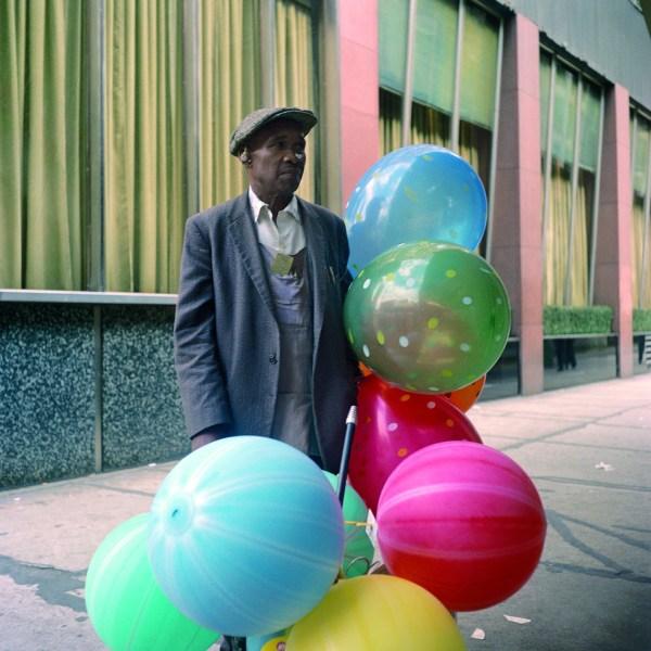"""Immagine dalla mostra """"Vivian Maier. A colori"""""""