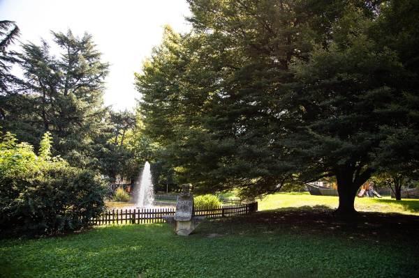 Uno scorcio del Parco Bonaldi a Crema (Cr), il luogo scelto da Alice per il suo ritratto