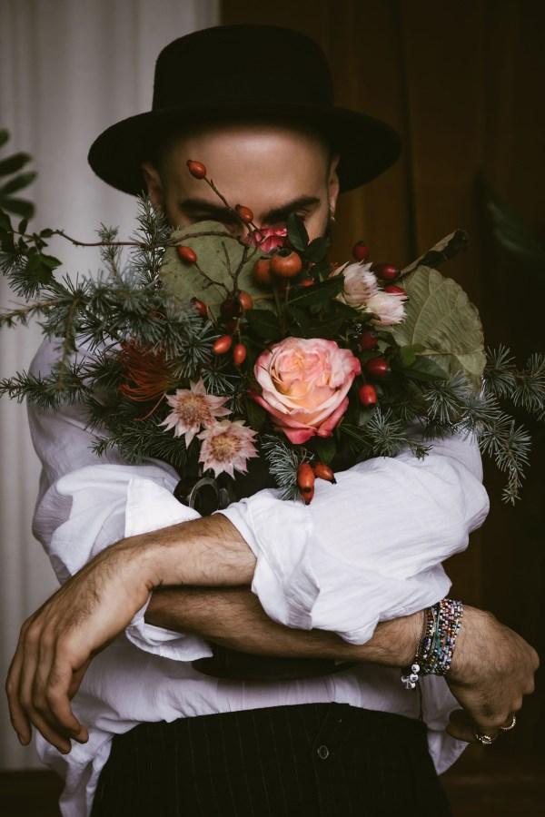 Davide Salzano, Floral Designer, ritratto da Monica Monimix Antonelli