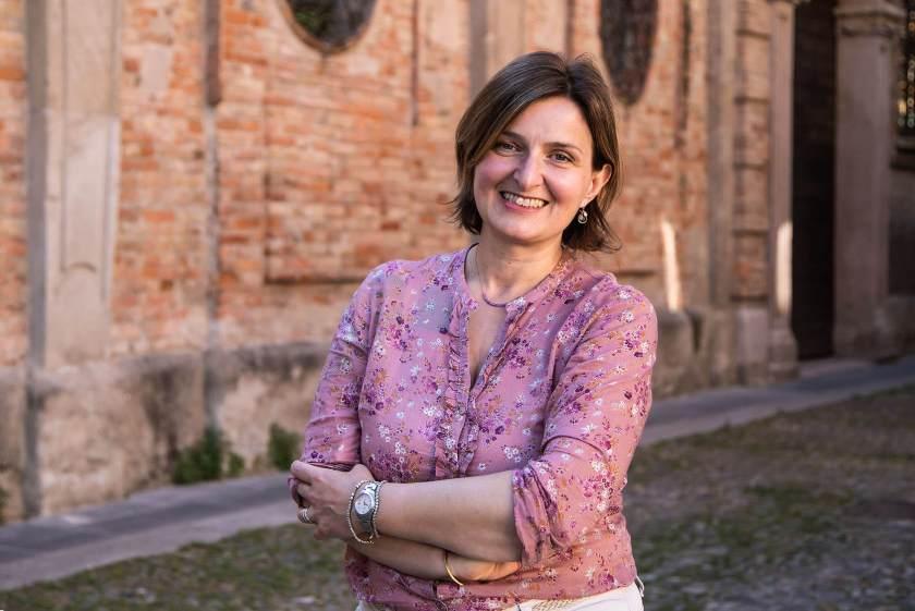 """Cecilia, la prima partecipante al progetto """"Donne di Crema"""" dopo la ripresa dal lockdown, a maggio"""