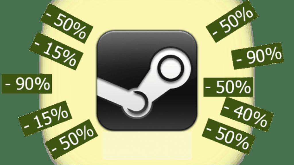 Resultado de imagen de ofertas steam