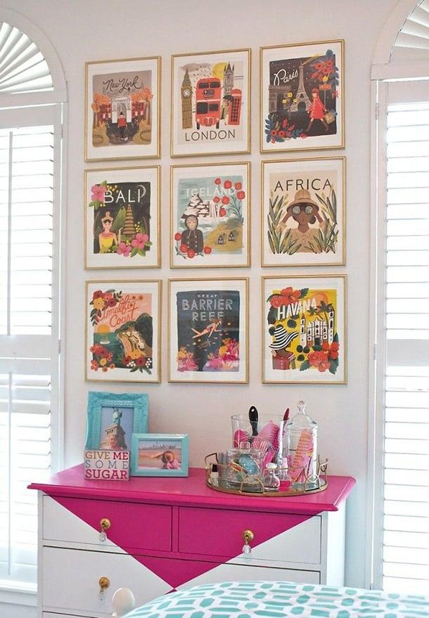 decoracao-com-quadros-quarto