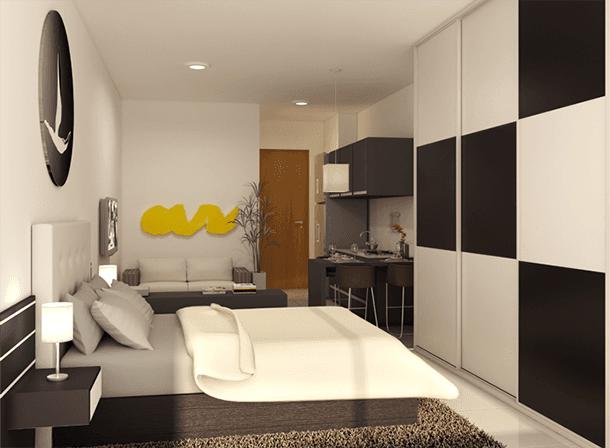 decoracao-do-quarto-preto-e-branco
