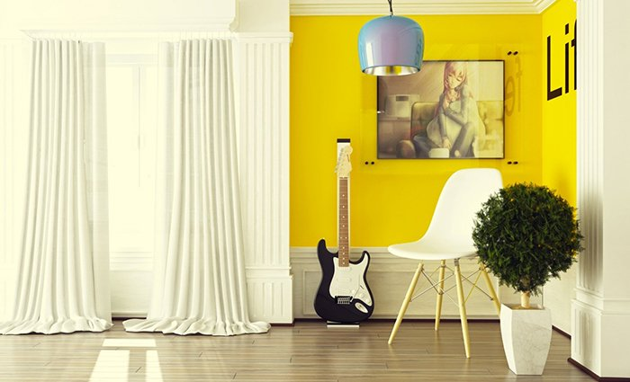 cores-na-decoracao-amarelo