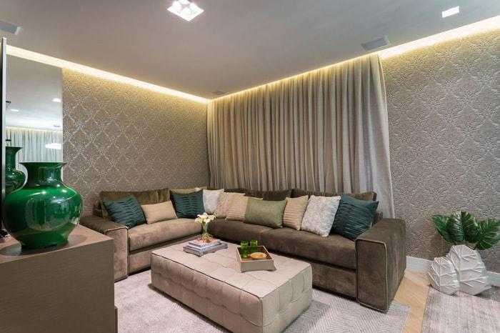 como limpar sofá sala de estar