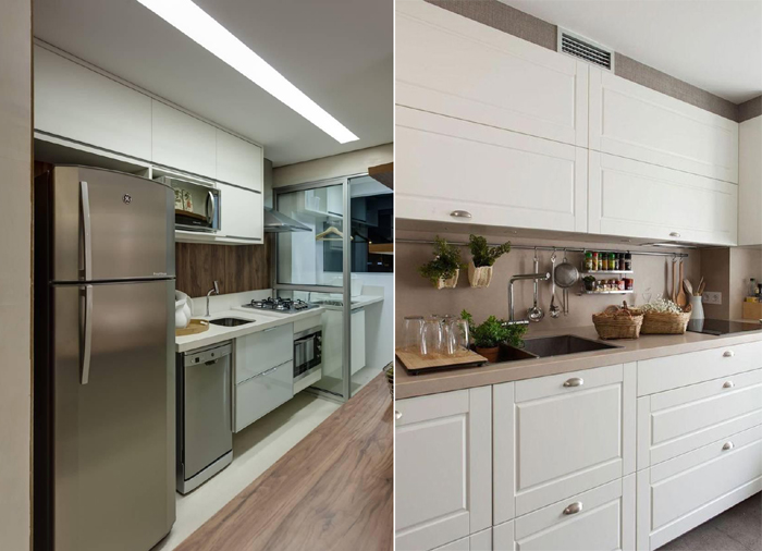 tendências de decoração de cozinha para 2021 armarios