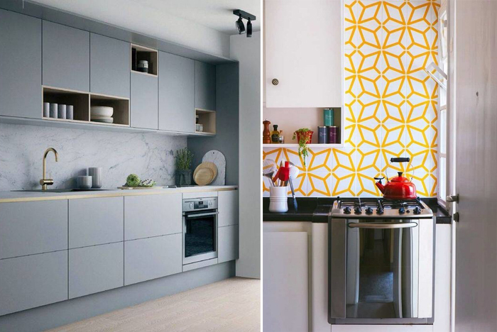 tendências de decoração de cozinha para 2021 revestimentos