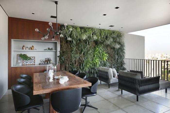 Plantas np jardim vertical