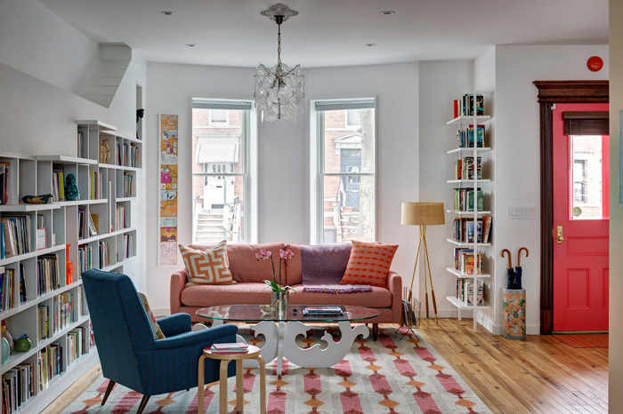 sofas coloridos