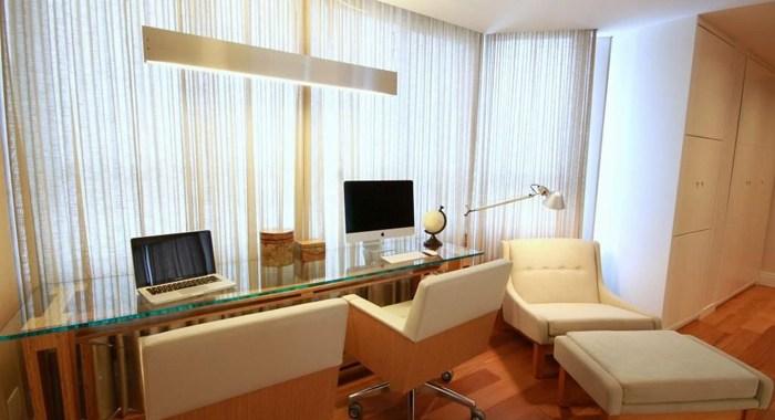 projetos diferentes para o home office neutro